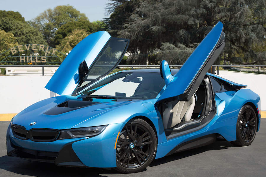 BMW i8 Rental Los Angeles
