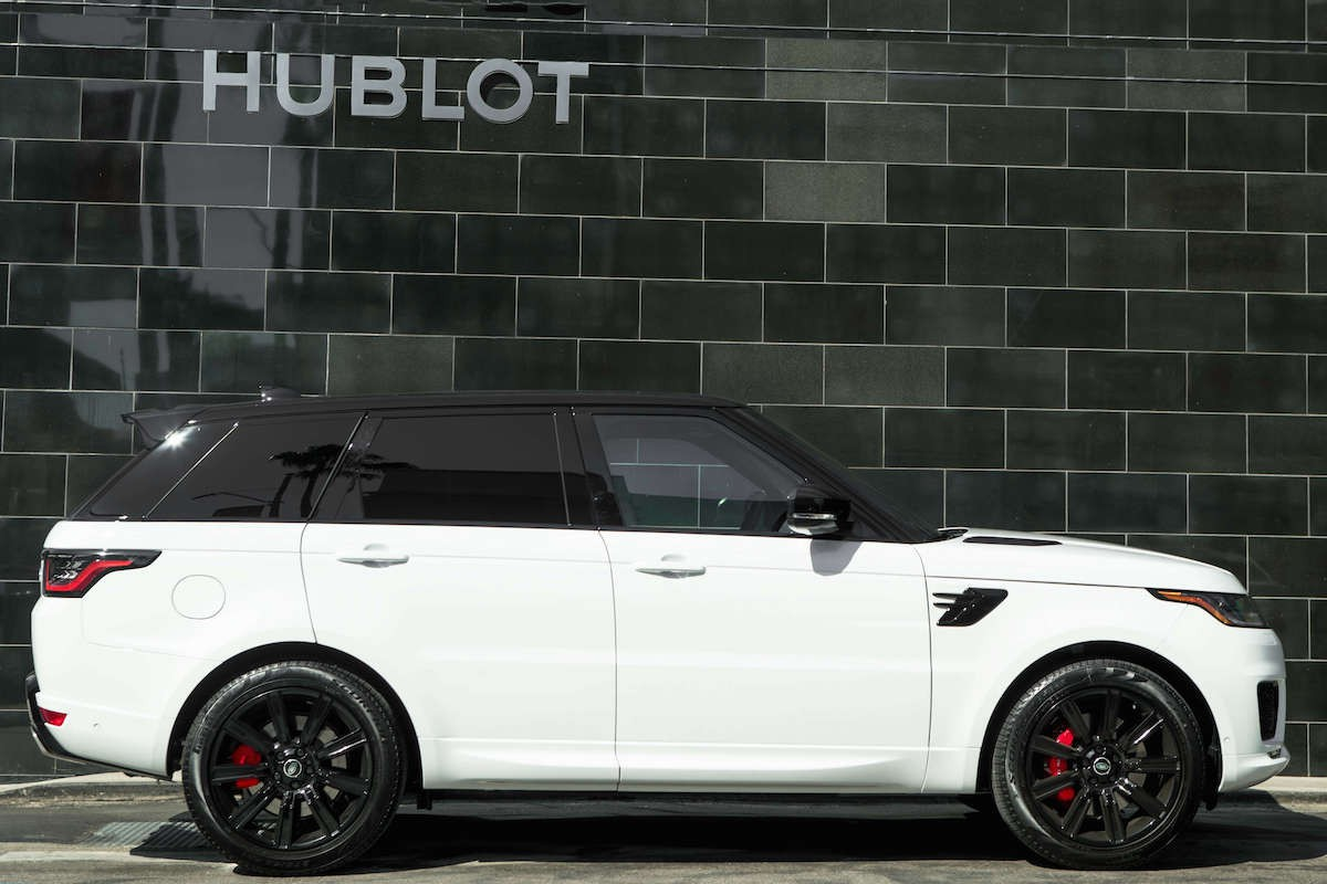 Range Rover Sport Supercharged Rental Los Angeles