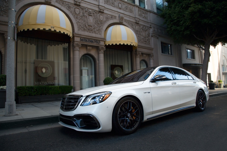 beverly hills mercedes rental