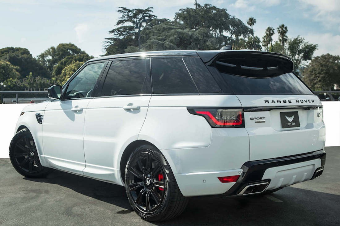 Rent Range Rover Sport Supercharged LAX