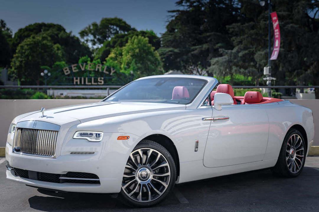 Rolls Royce Dawn White Rental