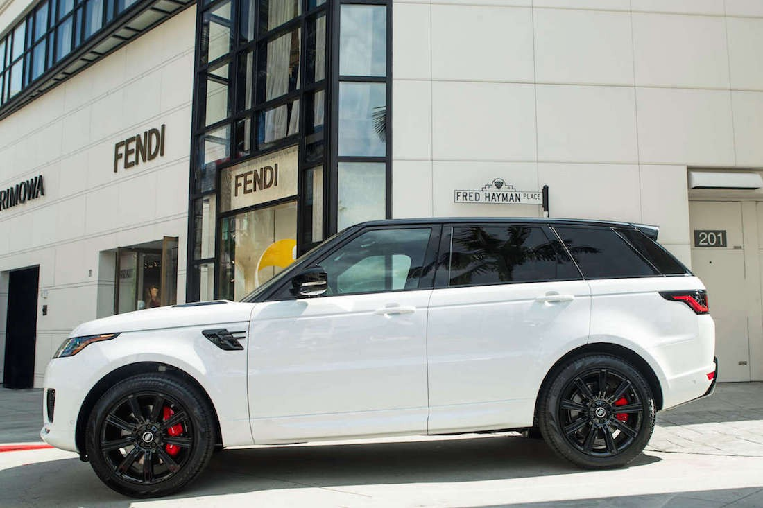 Rent Range Rover Sport Supercharged Los Angeles