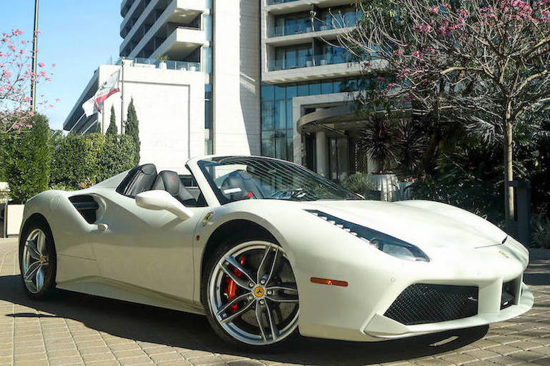 Rent Ferrari 488 Los Angeles