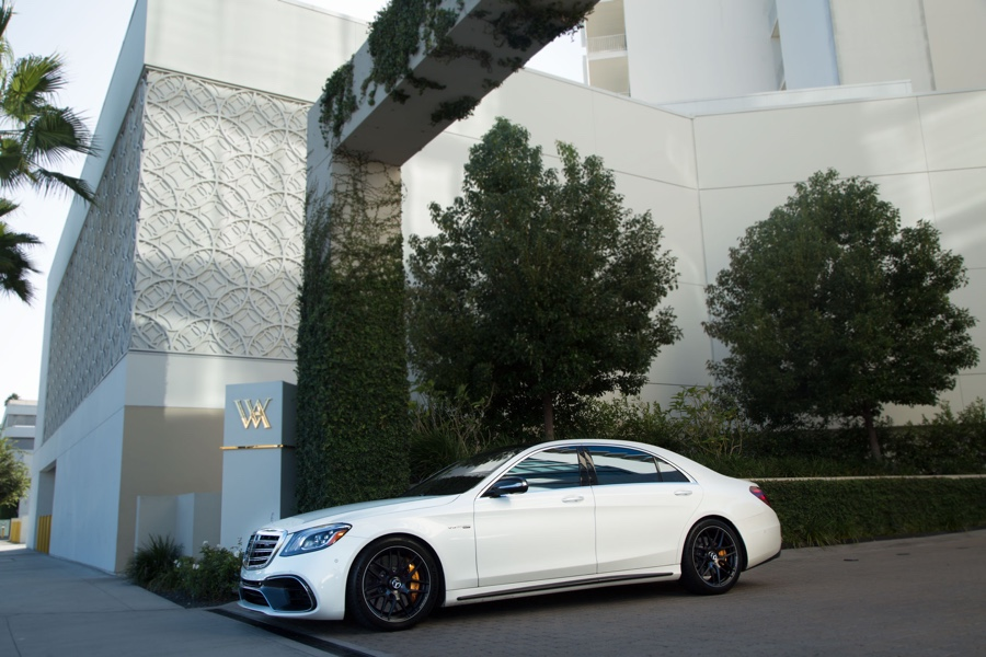 Mercedes hire los angeles