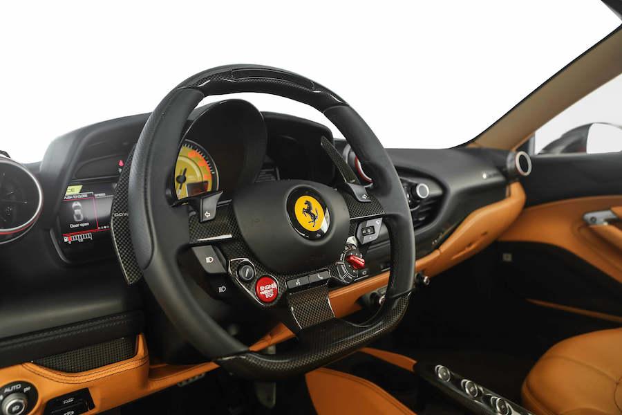 New Ferrari F8 Tributo Rental