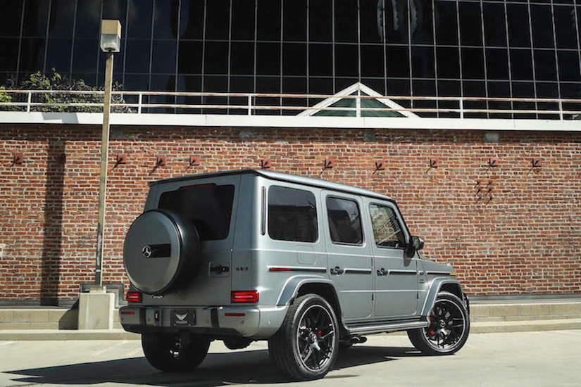 Rent Mercedes G63 LA