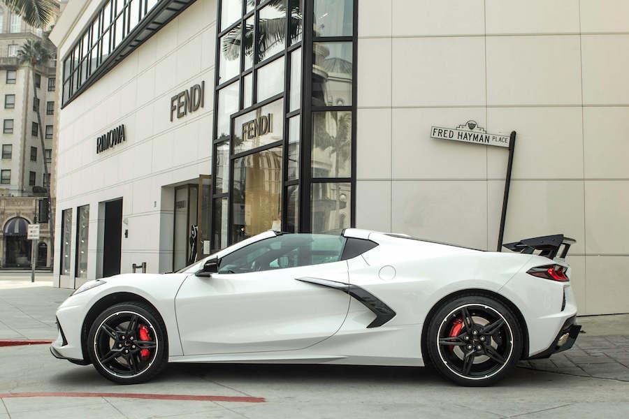 Rent a Corvette C8