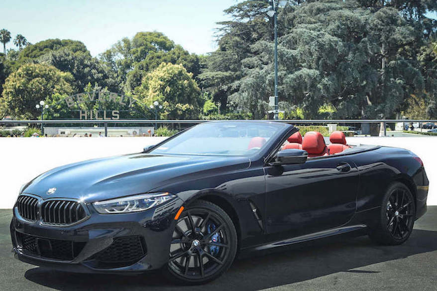 BMW 8 series rental los angeles