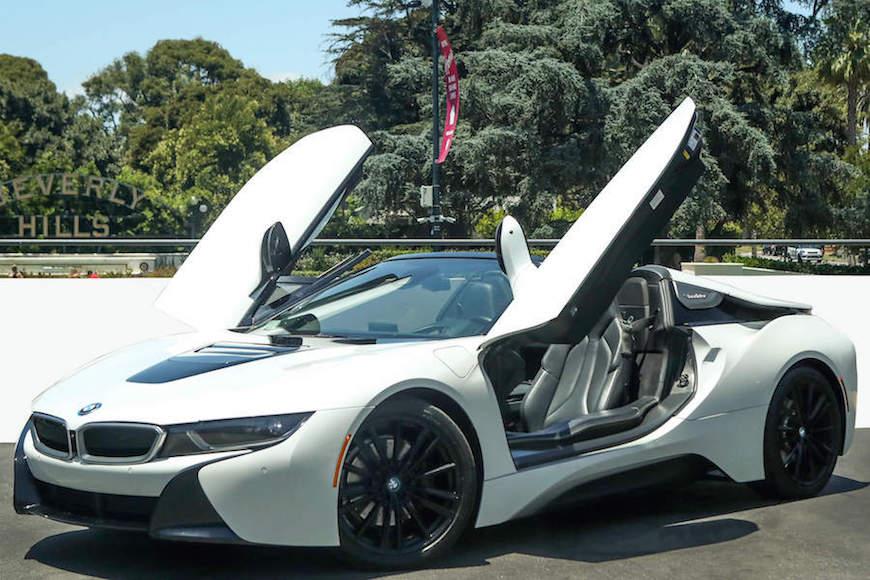 BMW i8 Roadster Rental