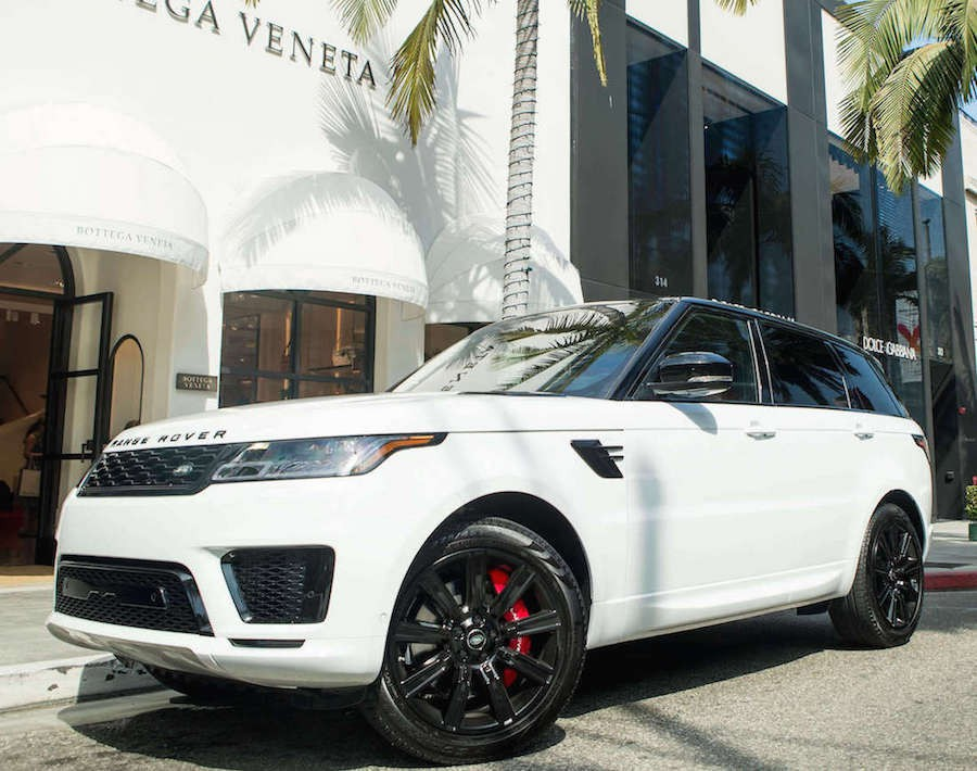 Rent Range Rover Sport Supercharged Beverly Hills