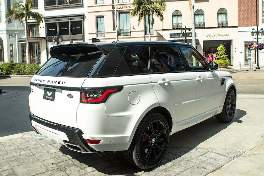 Range Rover Sport Supercharged Rental LAX
