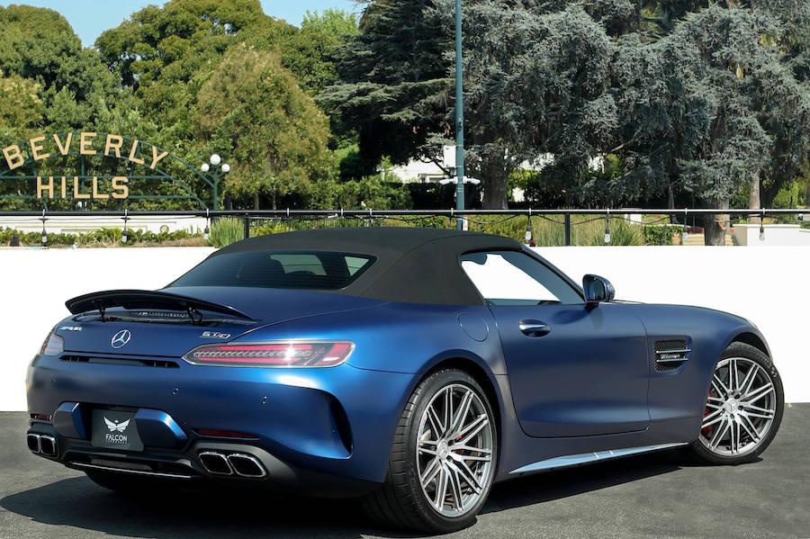 Mercedes AMG GT C Roadster Rental