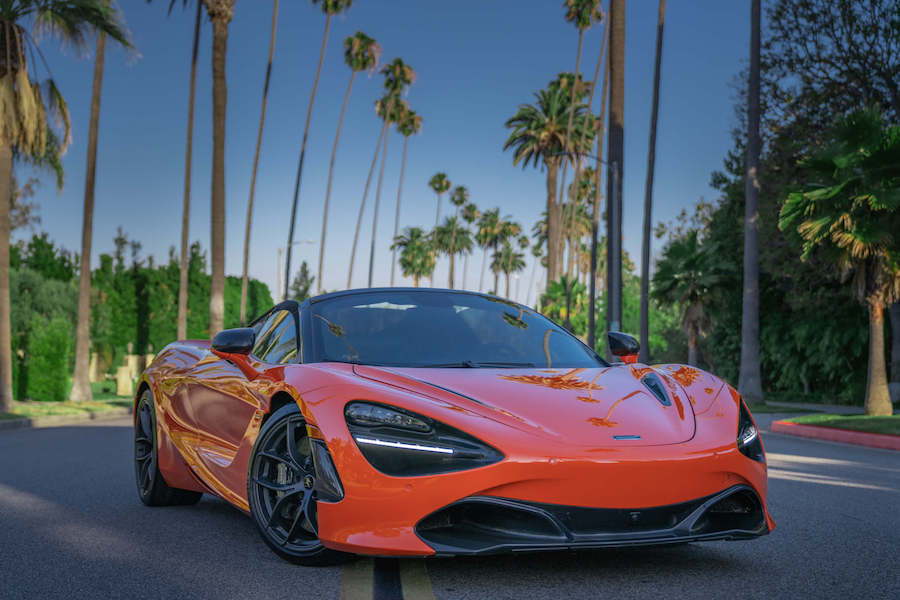 Rent McLaren 720S Spider