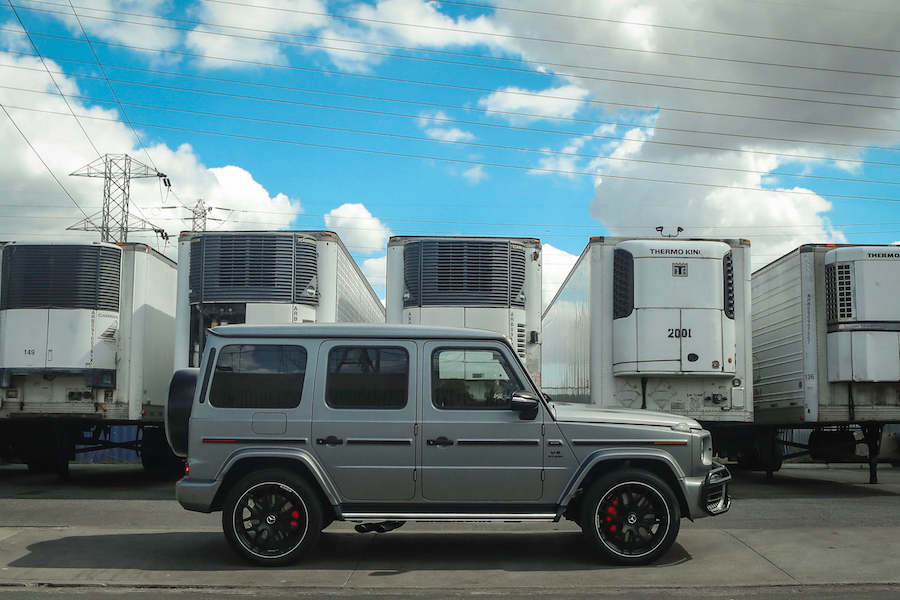 Rent G63 AMG Los Angeles
