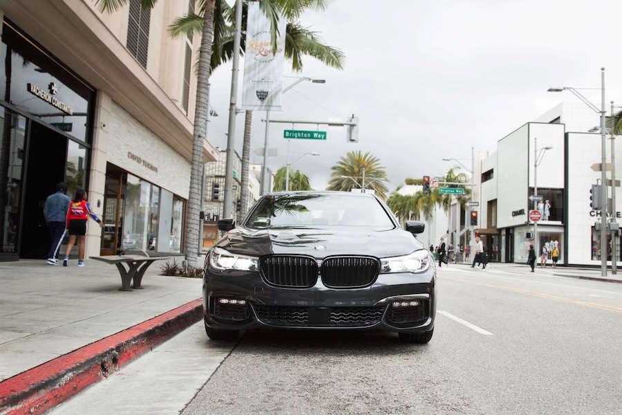 BMW 740i in Rodeo Drive
