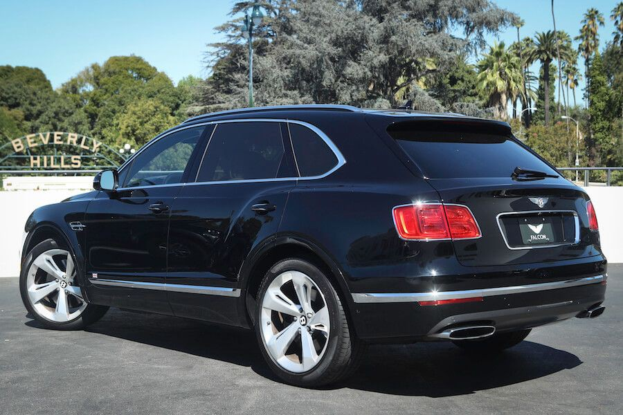 Bentley Bentayga at Falcon Car Rental