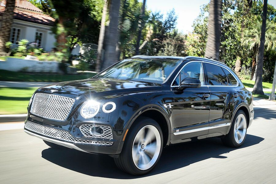 Bentley Bentayga for rent