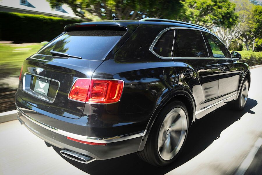 Bentley Bentayga rental Beverly Hills