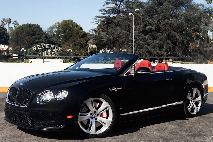 Bentley GTC Rental Los Angeles