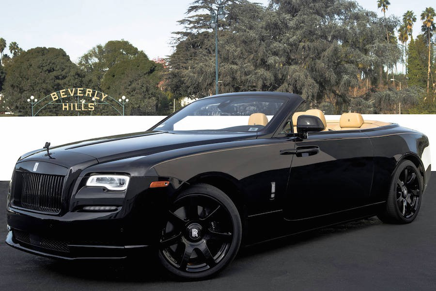 Blackout Rolls Royce Dawn