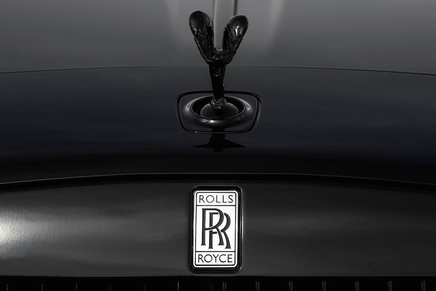Black Badge Rolls Royce Fender