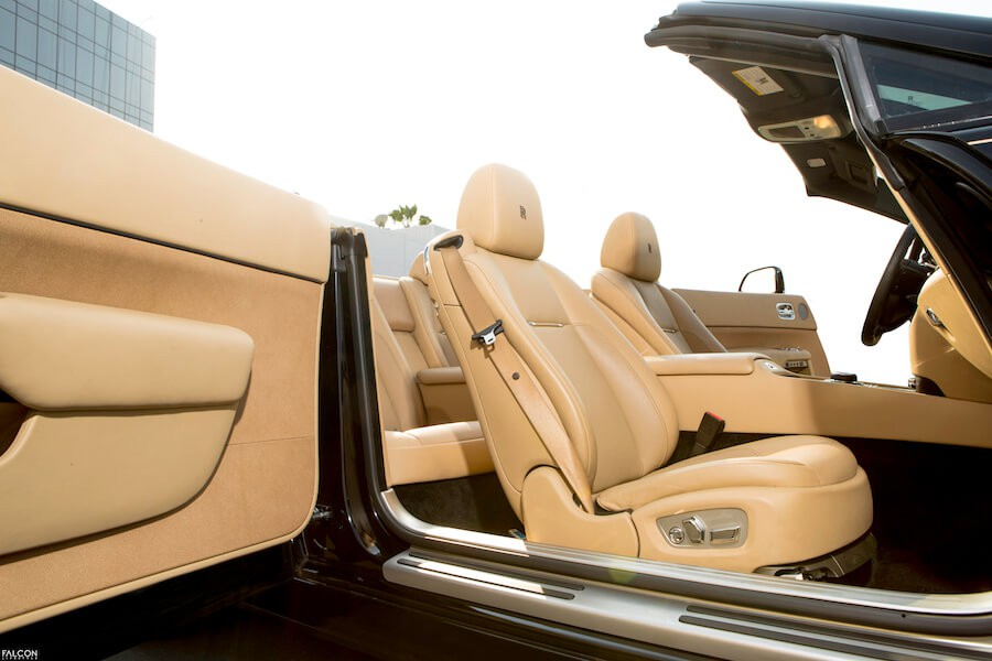 Rolls Royce Dawn Tan Interior