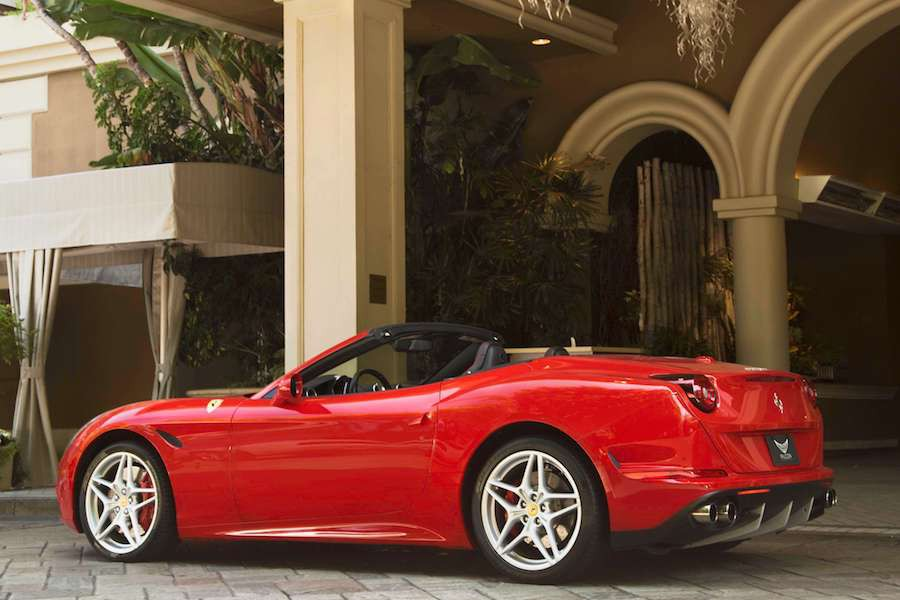 Ferrari California Rental Los Angeles Rent A Ferrari California T