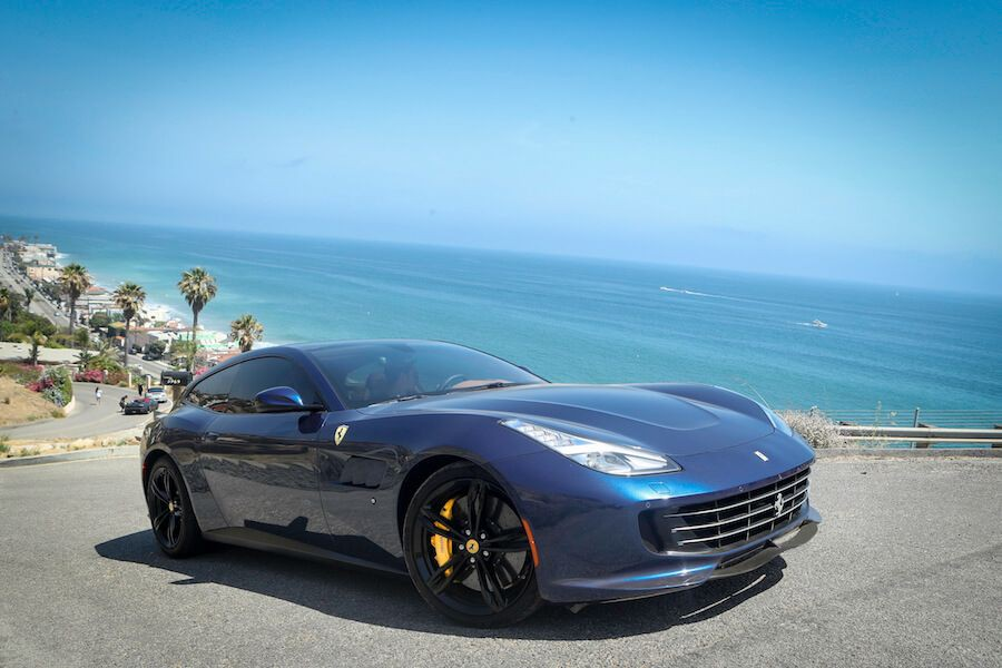 Ferrari GTC4Lusso for rent Los Angeles