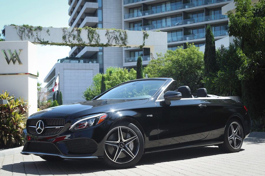 Mercedes Convertible rental los angeles