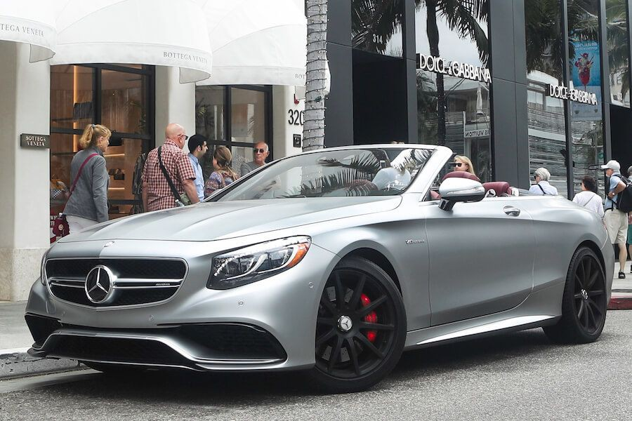 Mercedes AMG S63 Cabriolet in Los Angeles