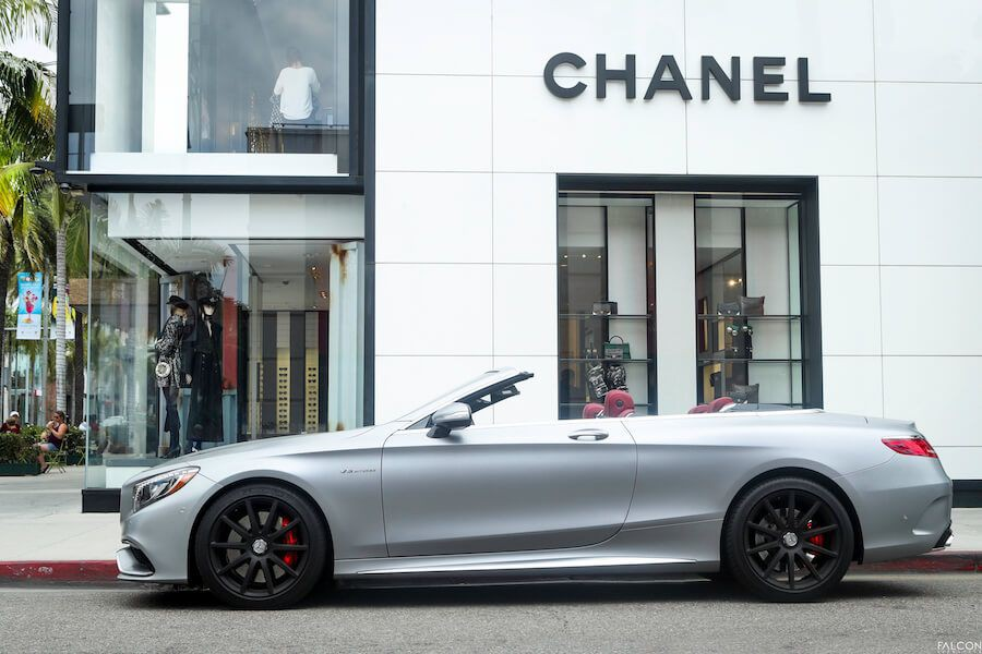 Mercedes AMG S63 Cabriolet rental Los Angeles