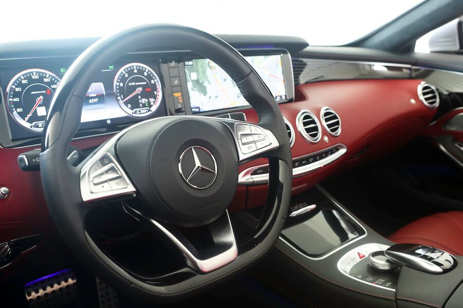 Mercedes AMG S63 Cabriolet for rent Los Angeles
