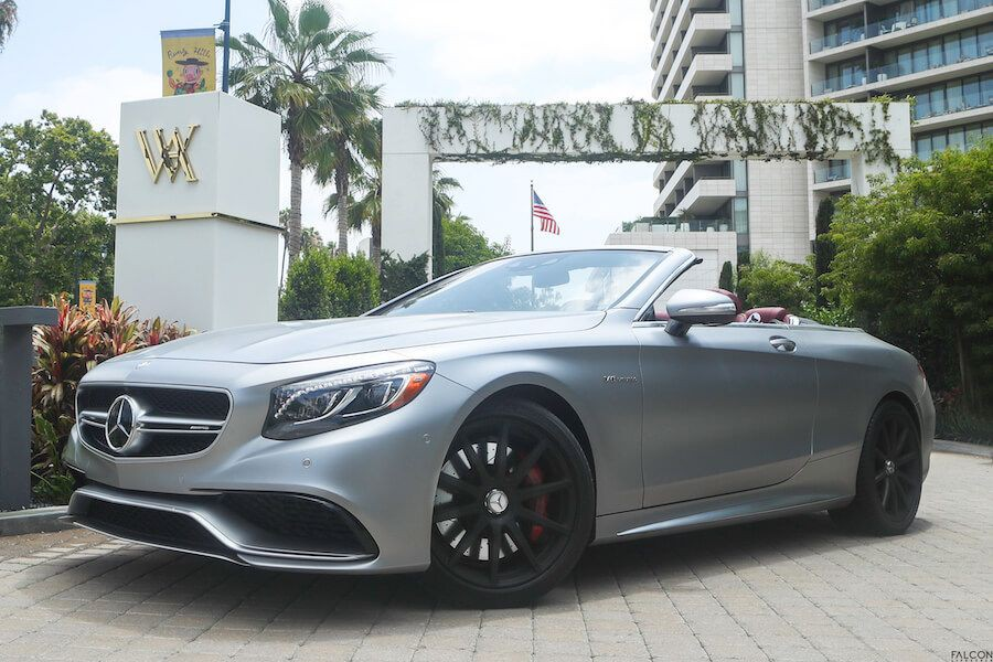 Mercedes AMG S63 Cabriolet hire