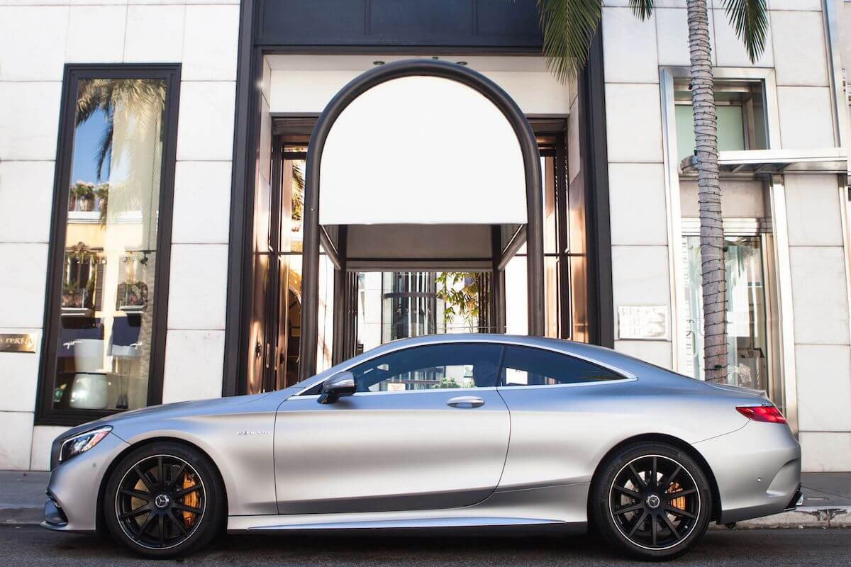 S63 Coupe Rental