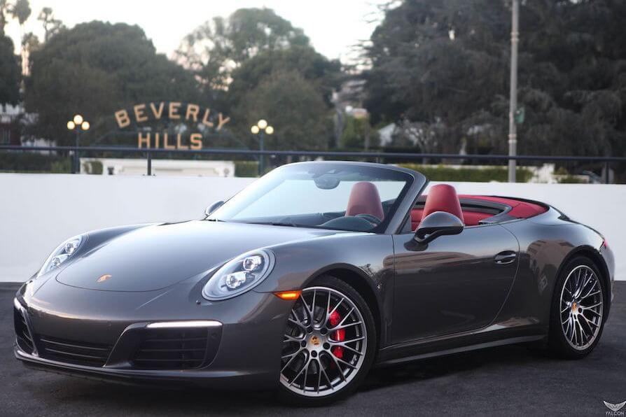 Porsche 911 Carrera 4s Cabriolet Rental Los Angeles Rent A 911 Convertible