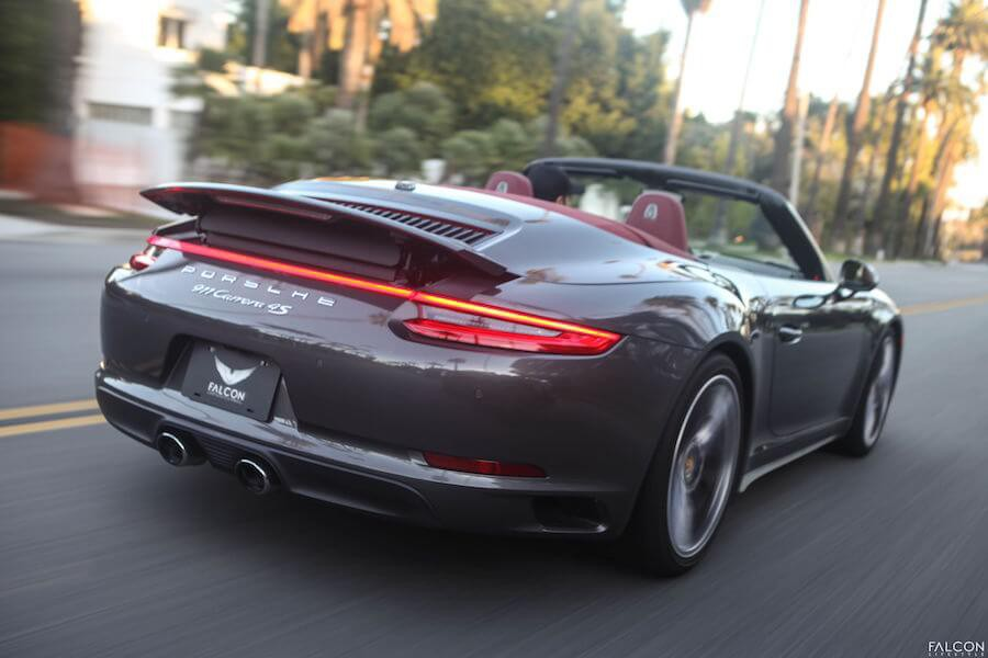 Porsche 911 Carrera Rental Los Angeles