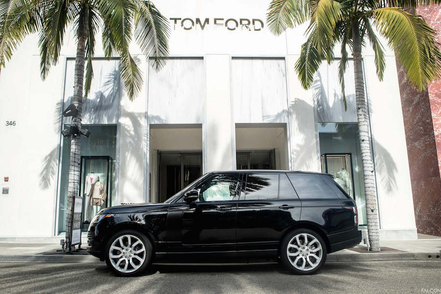 Range Rover on Rodeo Drive