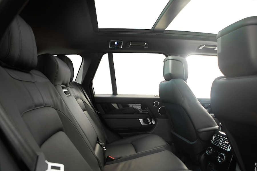 Back Seats of the 2018 Range Rover