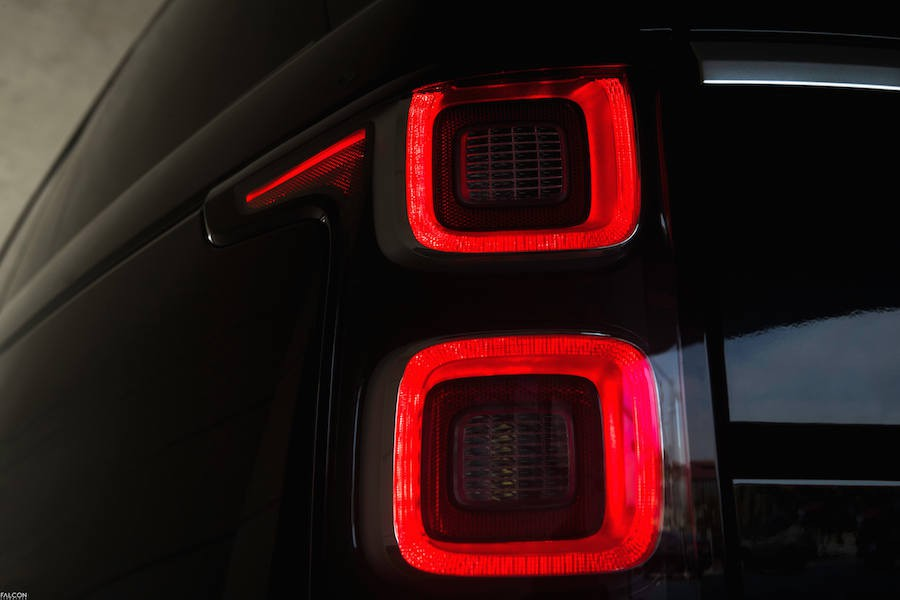 Taillight of the 2018 Range Rover