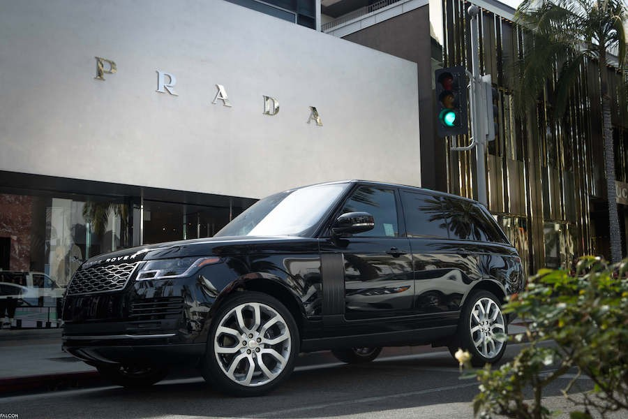Range Rover HSE for Rent