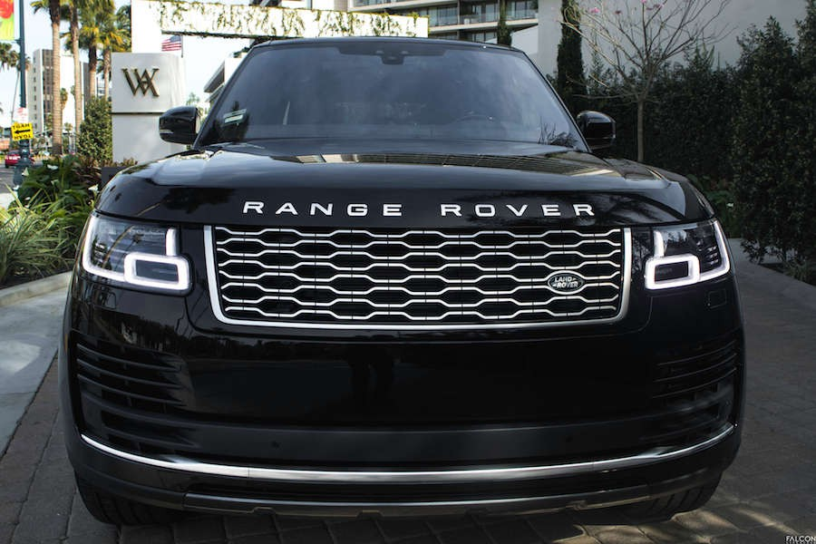 2018 Range Rover HSE Grill