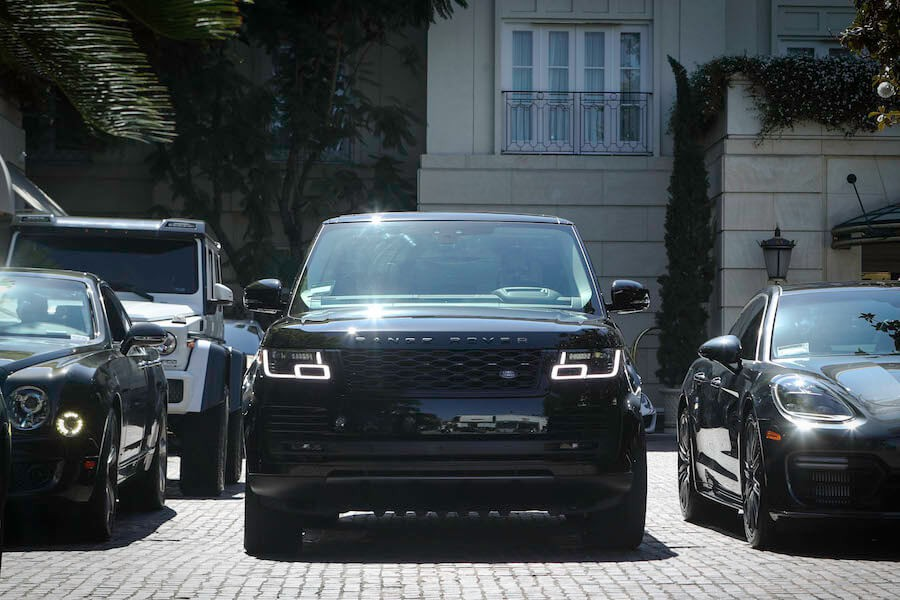 Range Rover Blacked out