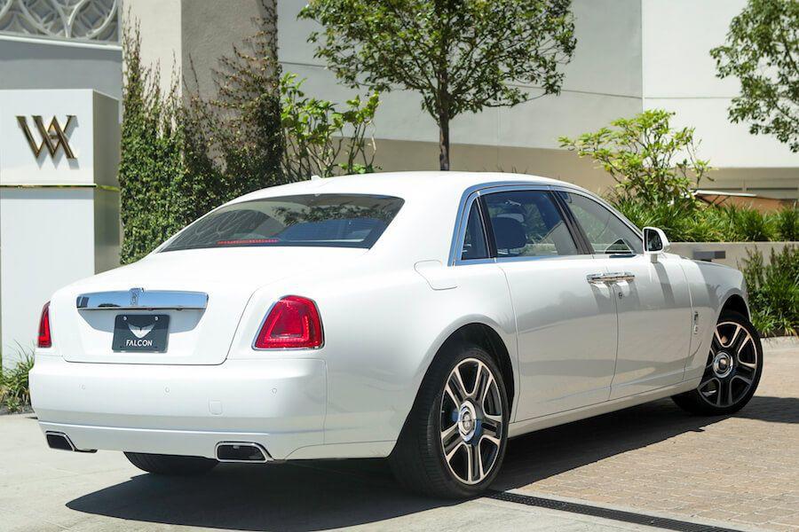 Rolls Royce Ghost Series II EWB Rental Los Angeles - Rent ...
