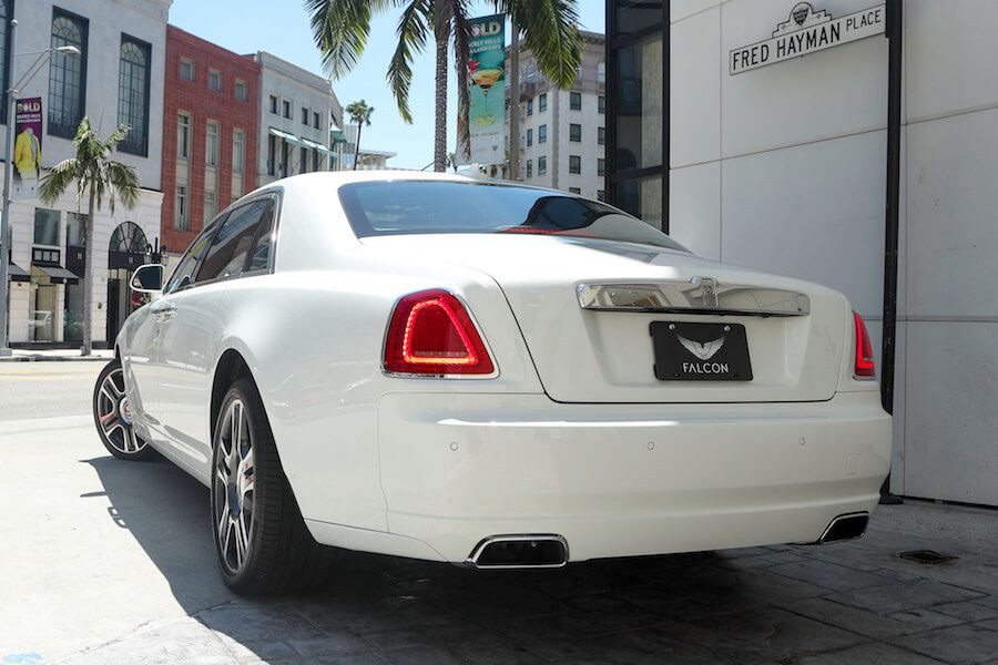 rolls royce for rent in LA
