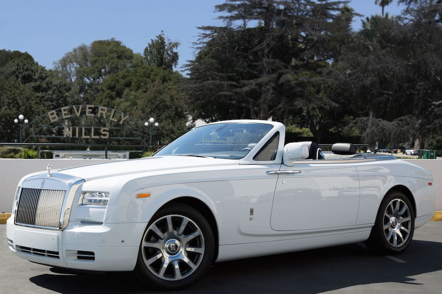 Rolls Royce Phantom Rental Los Angeles
