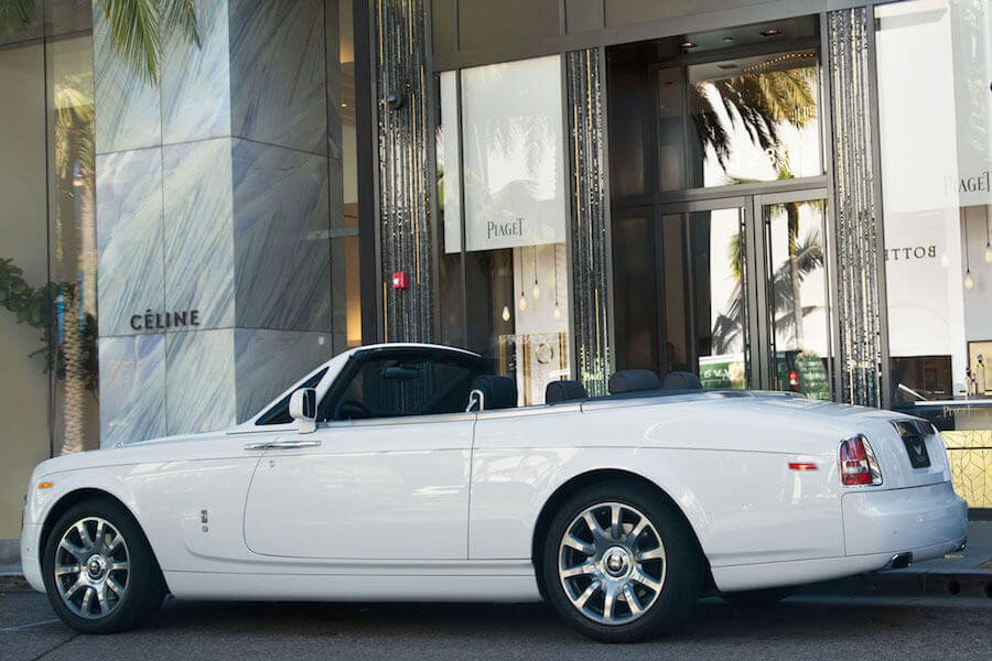 Rolls Royce Dawn Rental Los Angeles