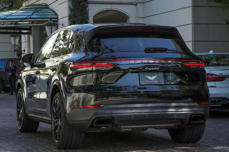 Porsche Cayenne Rental