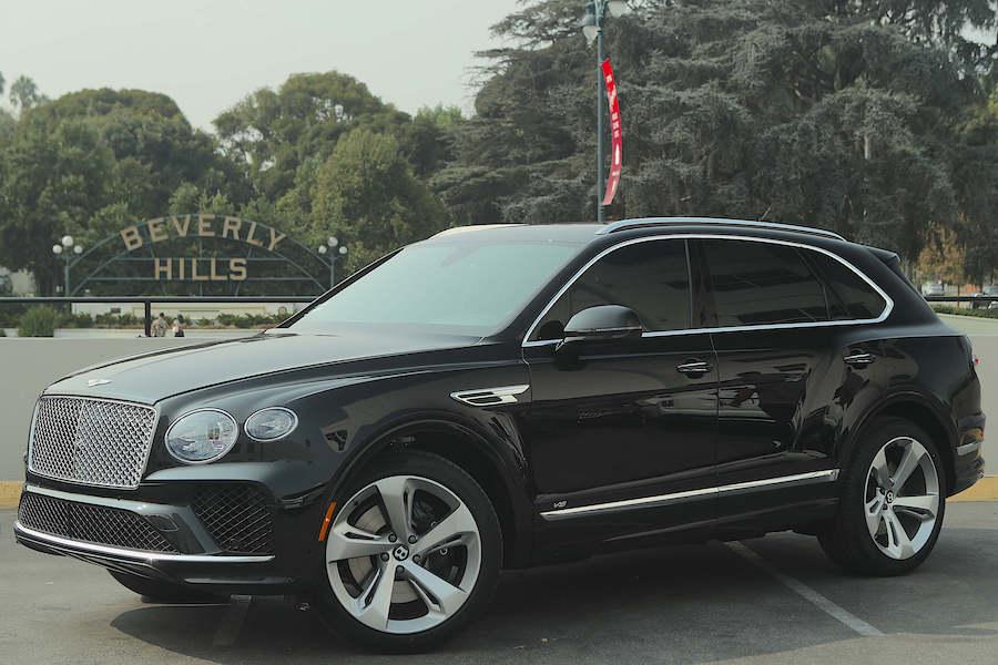 2021 Bentley Bentayga Rental Los Angeles