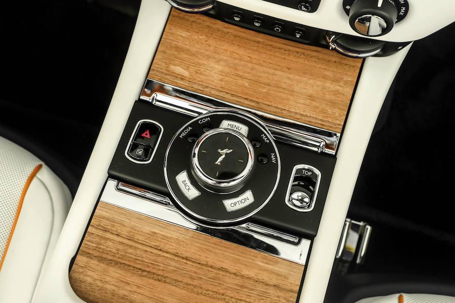 White Rolls Royce Dawn Rental