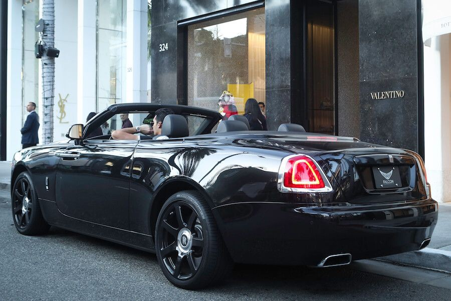 Rolls Royce Dawn Rental Beverly Hills